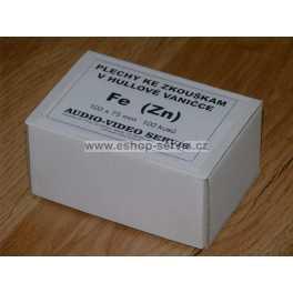 Plech Fe  99x75  mm 100 kusů